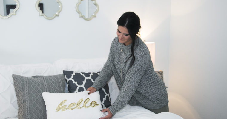 Weekend Guest Room Makeover
